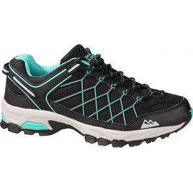 High Colorado Stratos Low Schoenen Dames zwart/turquoise